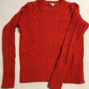 Crewneck pullover sweater in Cotton and Wool ❤️